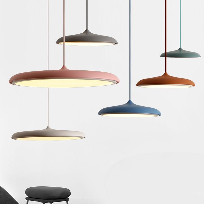 Scandinavian Art Restaurant pendant Lamp Modern Simple Design Danish Bar Creative Makarion Flyer Pendant Light danish design iq12q878slwh