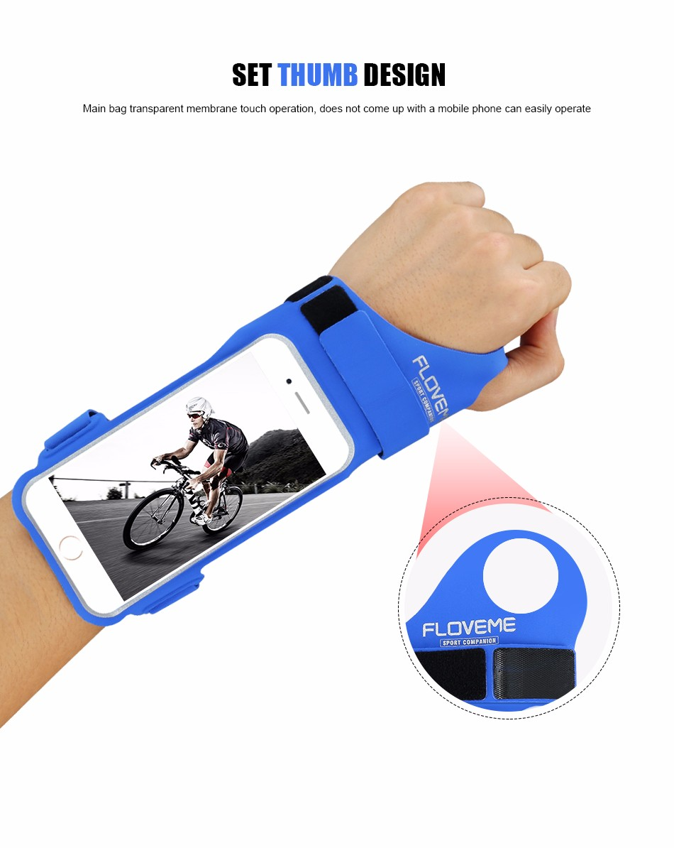 FLOVEME New Cycling Sports ARMBAND Case For Apple Iphone 6 6S Plus SE 4S For Iphone5S For XIAOMI REDMI For HUAWEI P9 Touch Pouch 1 (5)