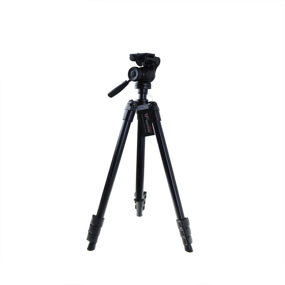 High Quality Aluminum Weifeng WT 6724 font b Tripod b font with Damped Pan Head Hot