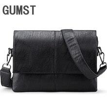 Brand Leather Men Bag Casual Men Messeng