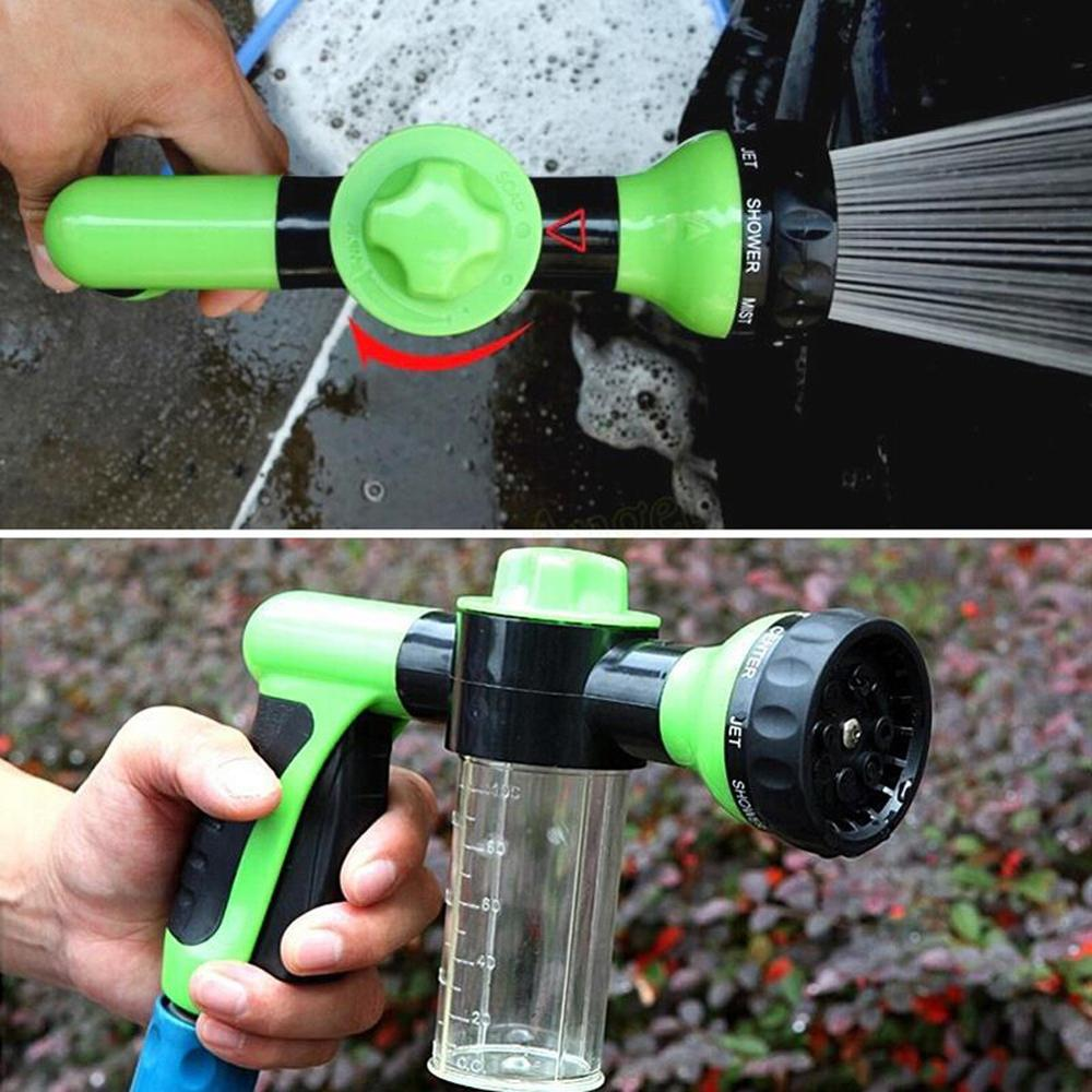 Multifunction Portable Auto Foam Water Gun High Pressure 3 Grade Nozzle Jet Car Washer Sprayer Cleaning