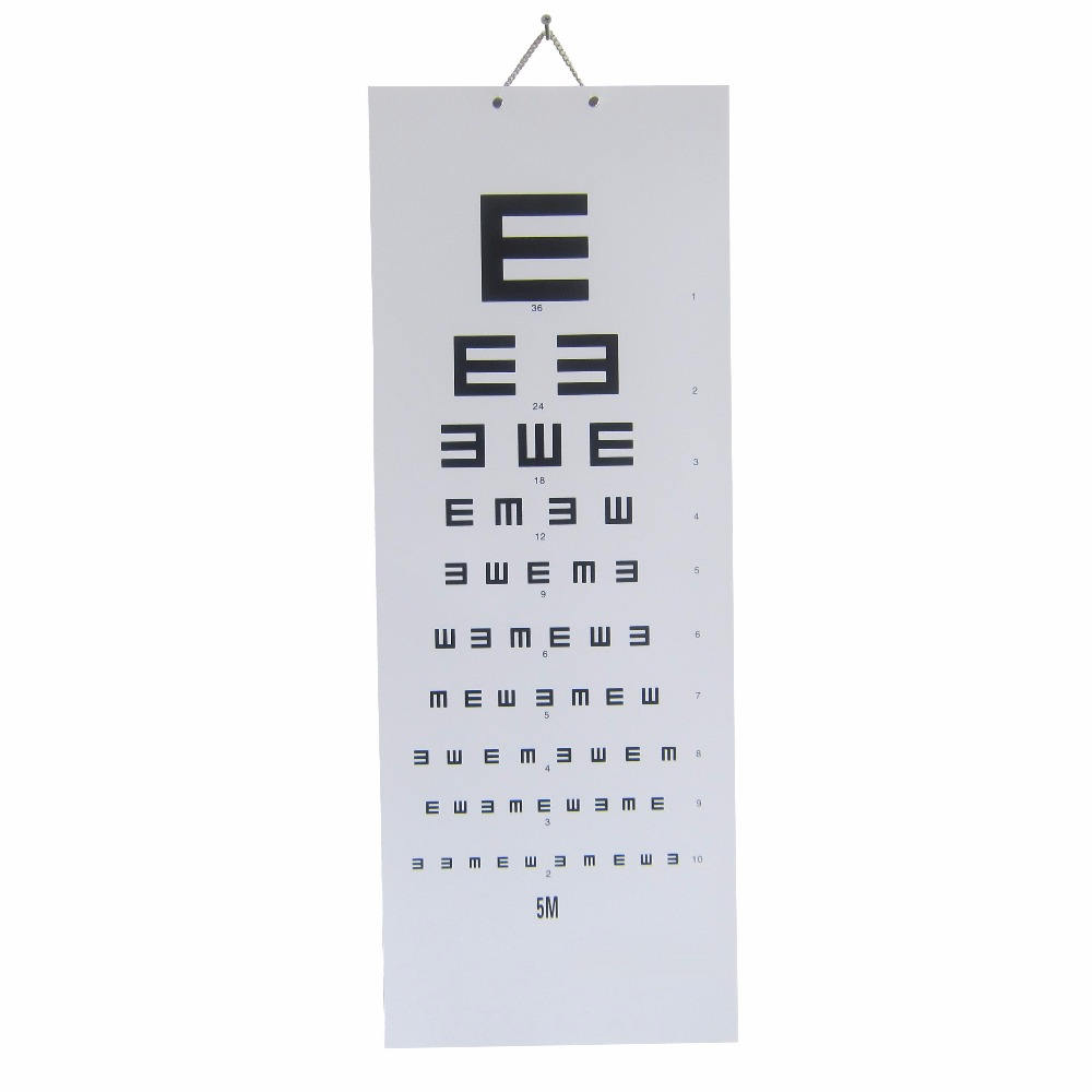 Professional simple eye chart hanger vision chart for student adult professional simple eye chart hanger vision chart for student adult vision test vision chart free shipping in braces supports from beauty health on geenschuldenfo Image collections