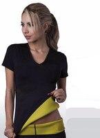 Hot Giữ Gìn neotex T shirt Stretch Neoprene Slimming Vest Body Shaper Kiểm Soát Vest tops Trọng Lượng Giảm Cân corset Reductoras Espartilho
