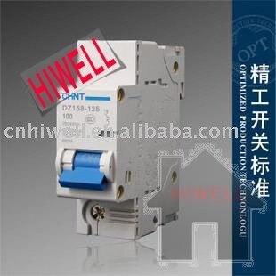 household circuit breaker dz158 1p 100a high power air circuithousehold circuit breaker dz158 1p 100a high power air circuit breaker switch to open space