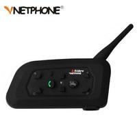 VNETPHONE Motorcycle Bluetooth 3 0 Helmet Intercom Headsets 1200M Motorbike Wireless BT Interphone Helmet Intercom
