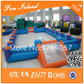 Free Shipping Double Tube Outdoor Playground Equipment Inflatable Football Court, Backyard Soccer Field, Inflatable Football
