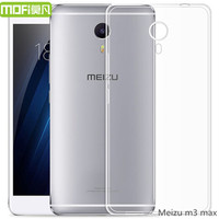 Meizu M3 Max Case Silicon M3max Cover Tpu Ultra Thin Clear Soft Mofi Original Meizu Meilan