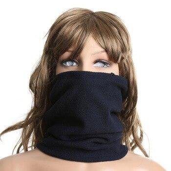 1PC Hot Sale Fashion Unisex Women Men Winter Spring Casual Thermal Fleece Scarfs Snood Neck Warmer Face Mask Beanie Hats