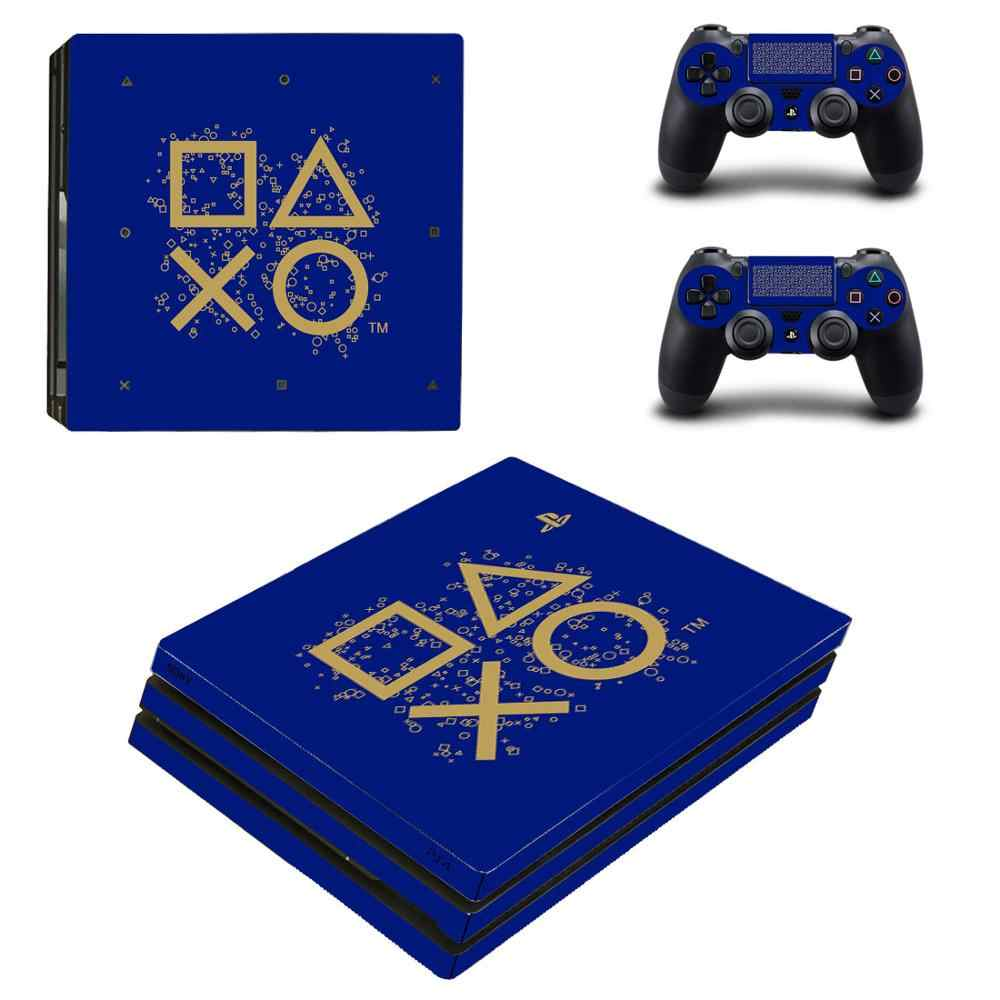 PS4 Pro Stickers Vinilo Play station 4 PS 4 Pro Skin Sticker Cover For Sony Playstation 4 Pro Console and Controller Accessories