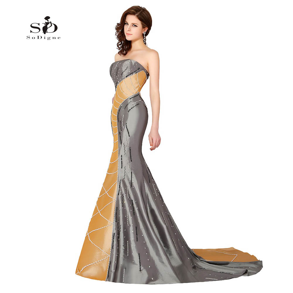 053f0a520e2 Detail Feedback Questions about Evening Elegant Dresses Gold Mermaid  Royalty Luxury Crystals and Pearls Evening Dress Stain Formal Dresses Prom  Gowns 2018 ...