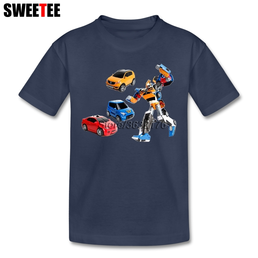 Tobot childrens T Shirt 100% Cotton Toddler O Neck Kid Short Sleeve Infant Tshirt Clothing Boy Girl 2018 Tops T-shirt For Baby