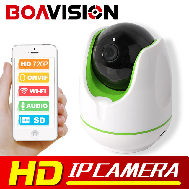 1.0MP 720P Smart WI-FI IP Camera Wireless Home Baby Monitor Mini PTZ Camera Wifi P2P View Security Surveillance CCTV Cameras
