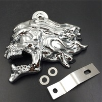 Aftermarket Free Shipping Motorcycle Parts Horn Cover for Yamaha Vulcan 800 V Star 650 1100 Classic Silverado CHROMED