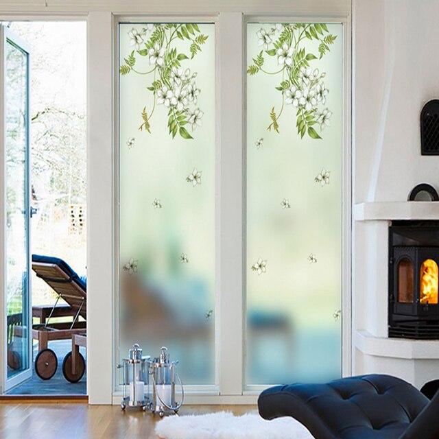 fen tre autocollants balcon fen tre chambre translucide opaque salle de bains salon salle de. Black Bedroom Furniture Sets. Home Design Ideas