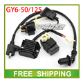 gy6 motorcycle rsz jog cdi rectifer ignition coil relay 50cc 125cc scooter accessories free shipping