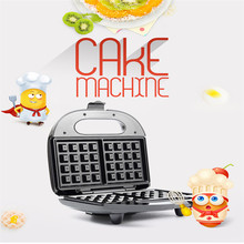 Mini Electric Multifunctional Square Waffle Makers Machine Double Side Heating Design Donut Sandwich Muffin Toaster Machine