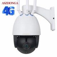 PTZ Беспроводная ip камера 3g 4G sim карта Wi Fi наружная HD 1080 P 5X оптический зум CCTV влагозащищенная купольная камера безопасности м 50 м IR