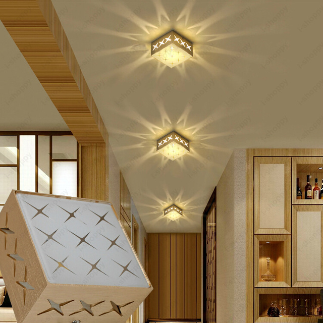 3w5w led ceiling light box wall lighting recessed lamp vestibule 3w5w led ceiling light box wall lighting recessed lamp vestibule aisle hotel silver mozeypictures Choice Image