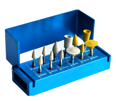 عيادة الأسنان CAD CAM Zirconia Polishing Kit ، 12Pcs / Kit