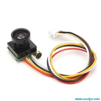 600TVL 170 Degree Super Small Color Video Mini FPV Camera With Audio For Mini 200 250