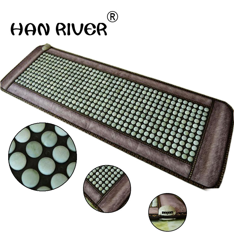 Jade germanium stone heating mat mat three sofa sofa 50 * 150 cushion care hairdressing mattress heating strip cushionJade germanium stone heating mat mat three sofa sofa 50 * 150 cushion care hairdressing mattress heating strip cushion
