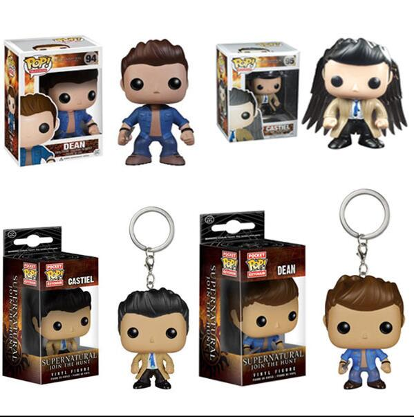 2019 Funko Pop Supernatural Collection Model Kids Toys Vinyl Action Figures Boy Toy Birthday Present