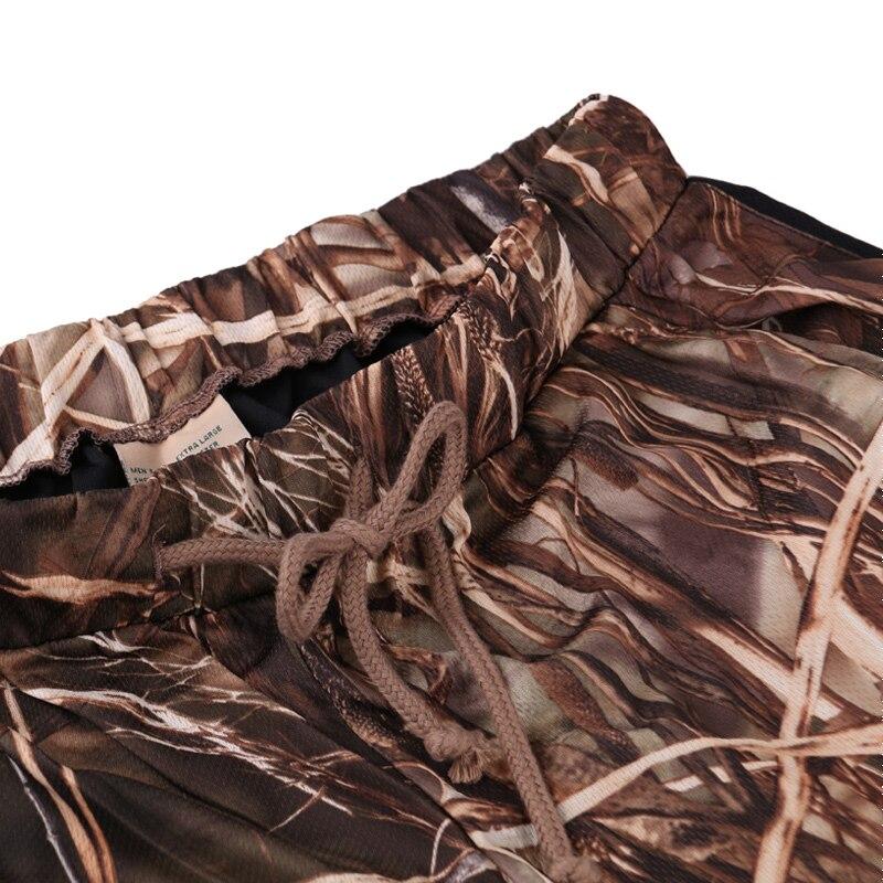 Extérieur jungle camouflage chasse vêtements bionic costume respirant protection solaire vêtements pêche vêtements chasse ghillie costume - 5