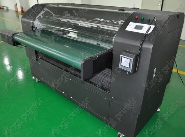 white ink color printer,large format printer able to print on acrylic,wood,plastic