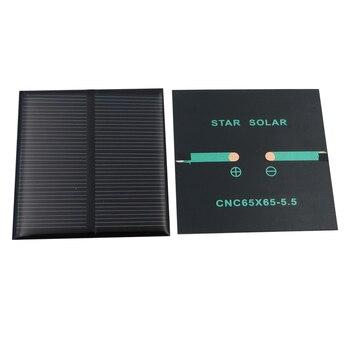 2PCS X Solar Panel 0.6W DIY