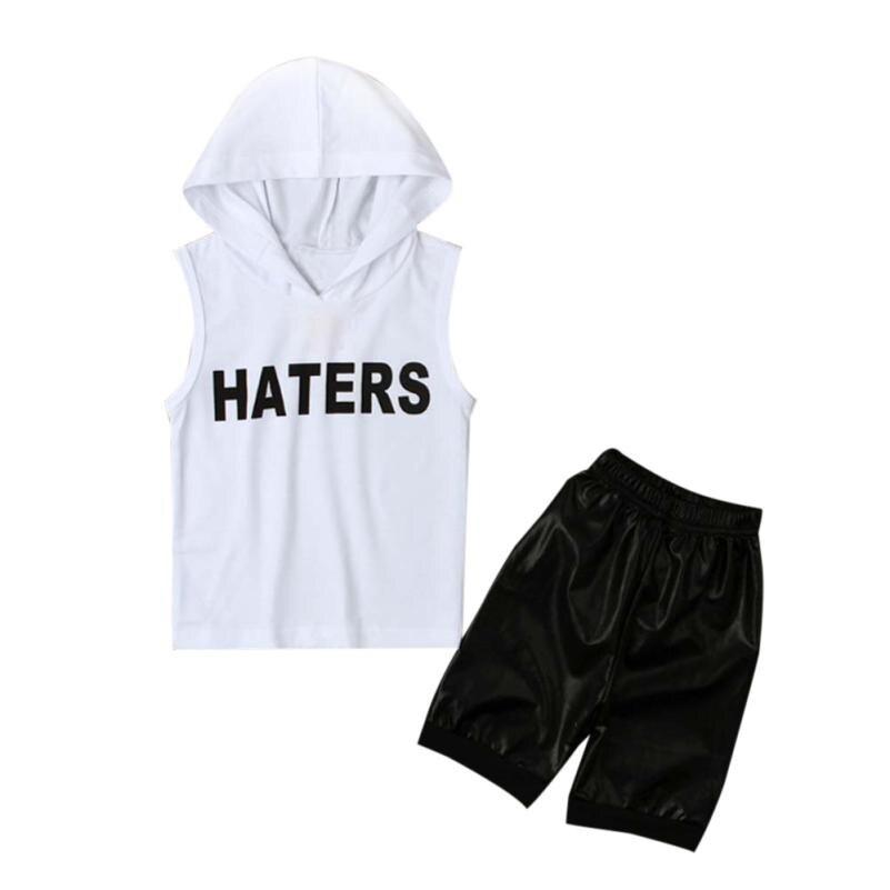 2018 2 шт. Дети для маленьких мальчиков топы с капюшоном футболка + шорты штаны комплект одежды удобная и дышащая 5,31 ...