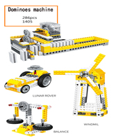 Legoed city Lepins technic Engineer Power Machinery Domino Beam Pumping Unit Building Blocks DIY Legoingly Model Kit Resin toys