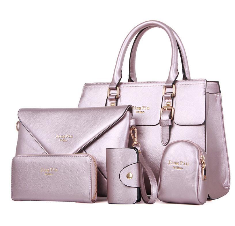 New Korean version of shoulder bag five piece casual diagonal bag portable child and mother bag