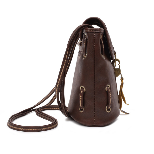 High Quality Leather Bag Vintage Style