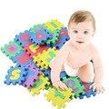 1 Conjunto/36 Pcs Carta Puzzle EVC Alphabet & Números Crianças Kids Play Mat Esteiras Bebê Educacional Brinquedo Macio brinquedos Jogar Esteiras