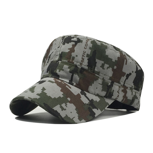 Adult Chapeau Adjustable Cadet Style Ultra Thin Breathe Flat Top Military  Cap Camouflage Hats Men Women Summer Military Hats 27dbb4981a8