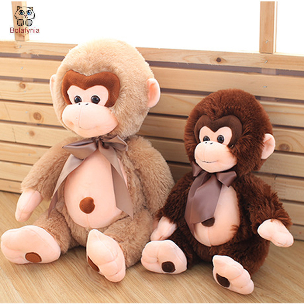 BOLAFYNIAเด็กตุ๊กตายัดของเล่นน่ารักการ์ตูนลิงเด็กของเล่นเด็กสำหรับคริสต์มาสของขวัญวันเกิด