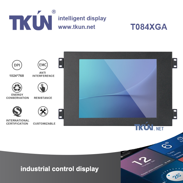 Embedded 8.4 inch touch display, high precision five wire resistive ...