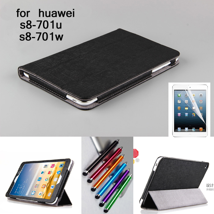 for Huawei T1 8.0 High quality fashion PU leather Case cover for Huawei Honor S8-701 S8-701u S8-701w T1-821 Luxury stand case 1pc high quality pu leather russian driver s license cover for car driving documents the cover of the passport bih002 pr49