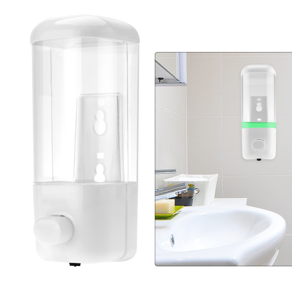 500ml Liquid Soap Dispenser Wall Kitchen Shampoo Lotion Pump Hand ...