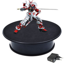 Stylish White Velvet Top Electric Motorized Rotary Rotating Display Turntable for display stand