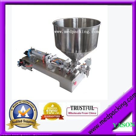100-1000ml Semi-Automatic Paste Tube Filling Machine For Sauce YS-SD54 GRIND