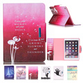 For Coque iPad Air 2 Case New Fashion Magnetic Closure PU Leather Stand Case Book Style Flip Folio Cover for iPad 6 Card Slot