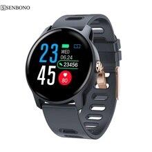 SENBONO S08 스마트 워치 Ip68 방수 심박수 모니터 smartwatch Bluetooth Smartwatch Activity 피트니스 트래커 밴드