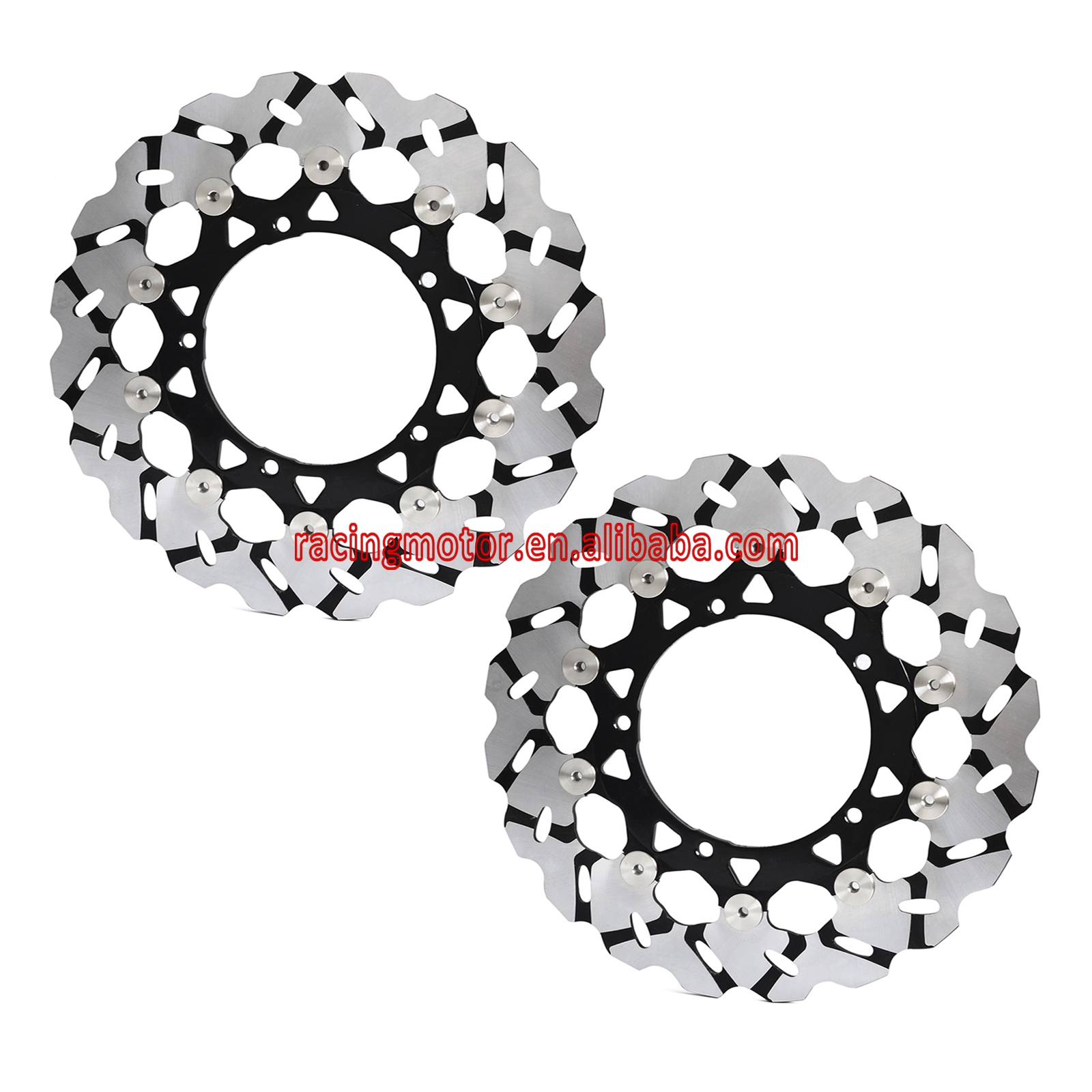 Motorcycle Front Brake Disc Disk For Yamaha FZ1 2006-2014 FZ1000 Fazer ABS 2007-2012 YZFR1 YZF-R1 2004 2005 2006 YZF R1 NEW aftermarket free shipping motorcycle parts eliminator tidy tail for 2006 2007 2008 fz6 fazer 2007 2008b lack