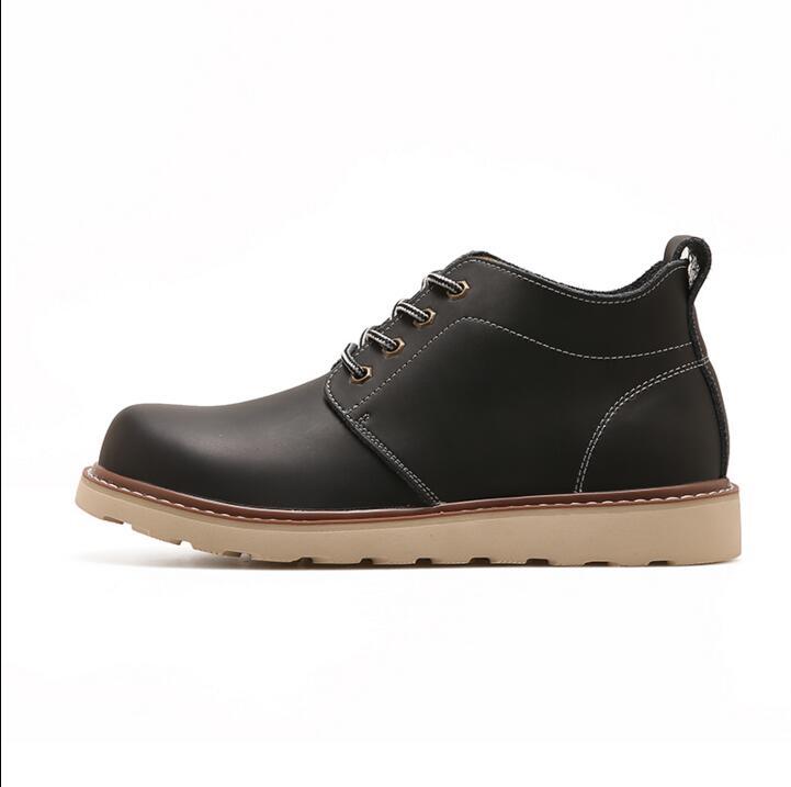 2017 New Men Shoes High quality Shoes Fashion Shoes Men's Boots Punk Retro Martin Boots Suture Short Shoes Tooling Boots Z3 for epson workforce pro wf 5620dwf wf 5690dwf wf 5110dw wf 5190dw wf 4640 wf 4630 eur refill cartridge