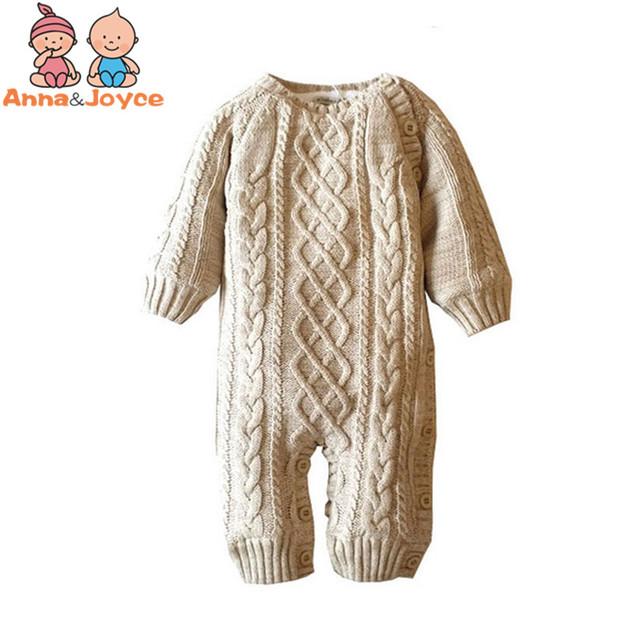 Bebê Espessamento Outono E Inverno Quente Moda Subir Roupas Romper Crianças de Algodão Macio ATST0038