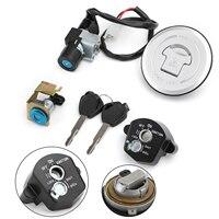 Areyourshop For Honda CBR125R CBR125RT CBR125RS CBR125RF CBR150R Ignition Switch Fuel Gas Cap Seat Lock Keys Kit 35010 KTY H50
