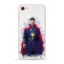 Marvel Avengers For Apple iphone 7 8 X XR XS MAX 6 6S Plus case 5 5S SE Phone Case Soft TPU Cover Iron Man Coque Spiderman Shell