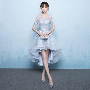 Gray Chinese Dress Qipao Party Dresses Bride Cheongsam Dress 2018 New Evening Dress Oriental Wedding Gowns Vestido Plus Size 3XL