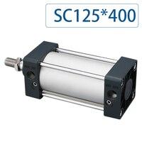 Дополнительный магнит SC125 * 400 Бесплатная доставка Стандартный цилиндры воздуха 125 мм диаметр 400 ход одного стержня двойного действия пневма